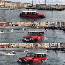 Amphicruiser: Una SUV todoterreno y anfibia