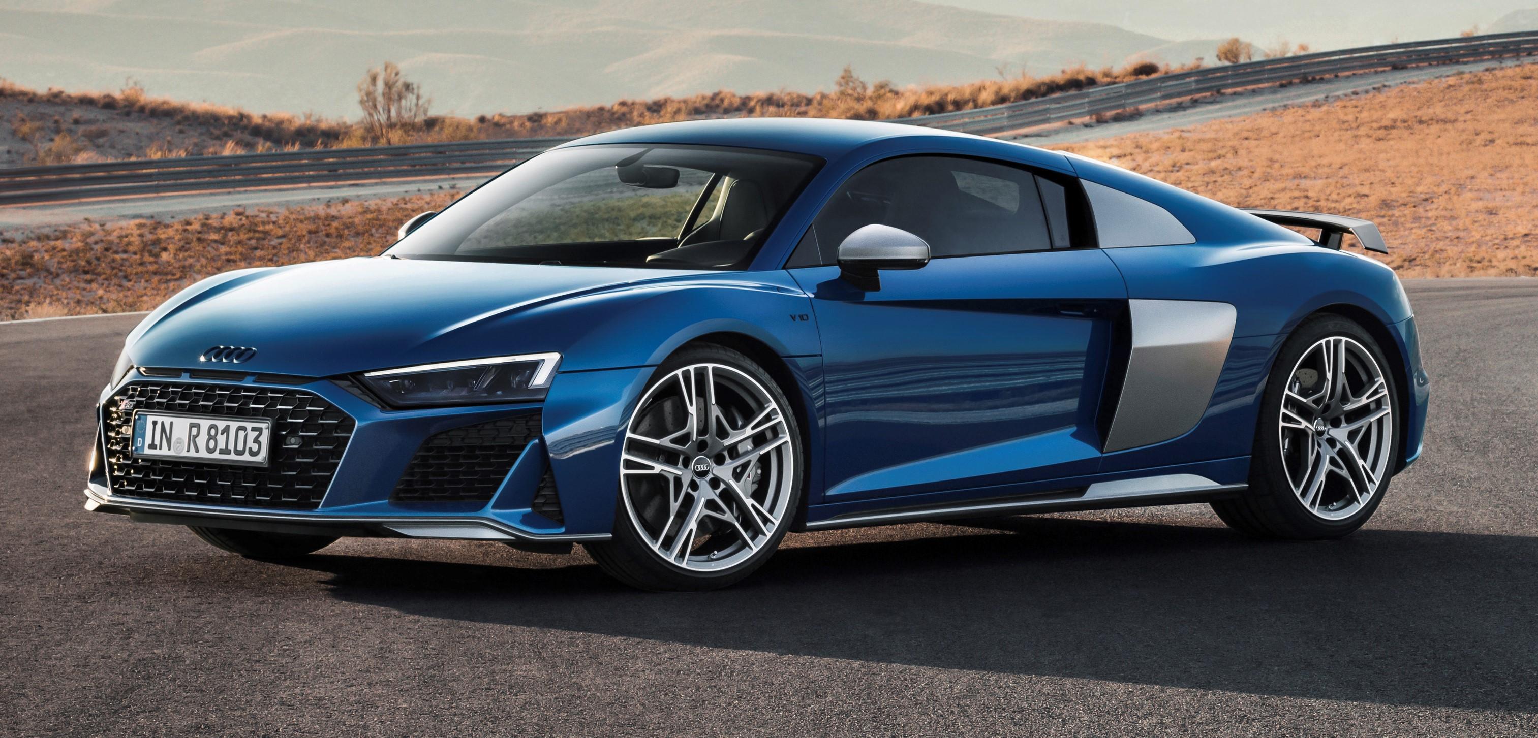 Audi R8 V10 Coupe Performance 2020 Presentacion Lista De Carros