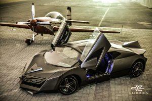 Elibriea Concept: De Qatar llega un superdeportivo con 800 CV.