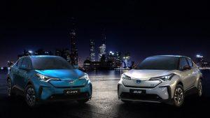 Toyota C-HR EV 2020, una interesante SUV eléctrica