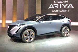 Salón de Tokio 2019: Nissan Ariya Concept, un adelanto de la primera SUV eléctrica de Nissan