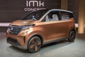 Salón de Tokio 2019: Nissan IMk, un auto eléctrico urbano para el futuro