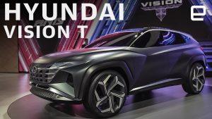 Auto Show de Los Ángeles 2019: Hyundai Vision T Concept, el futuro Tucson