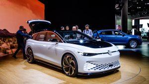 Auto Show de Los Ángeles 2019: Volkswagen I.D Space Vizzion Concept, una Station Wagon eléctrica y futurista