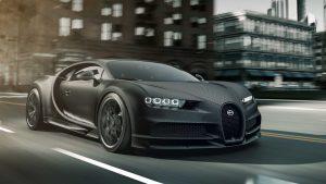 Bugatti Chiron Noire Edition:  Exclusividad y poder para unos pocos.