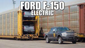 En 2021 llegaría la Ford F-150 eléctrica
