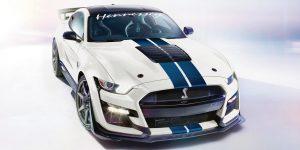 Ford Mustang Shelby GT500 por Hennessey:  !! Hasta 1,200 caballos de fuerza !!!