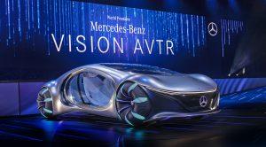 CES Las Vegas 2020: Mercedes-Benz Vision AVTR Concept, un auto bastante futurista