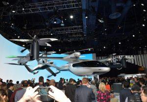 CES 2020: SA1, el Taxi volador de UBER.