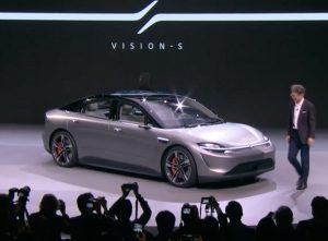 CES Las Vegas 2020: Sony Vision S Concept, eléctrico y autónomo