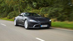 Aston Martin Vantage Roadster 2020: La capota más rápida de su clase