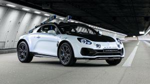 Alpine A110 SportsX Concept: Ahora el deportivo es una SUV para la aventura
