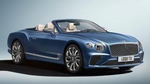 Bentley Continental GT Mulliner Convertible: Exclusividad para el más exigente comprador.
