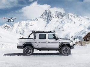 Brabus 800 Adventure XLP: Un Clase G pick-up listo para la aventura