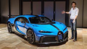 Bugatti Chiron Pur Sport: creado para ser el mejor también en curva