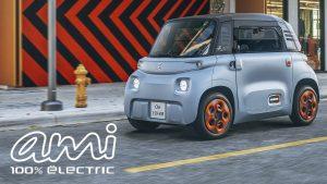 Citroën Ami 2021: Un carro eléctrico para mayores de 14 años