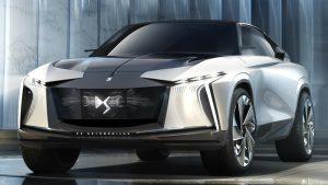 DS Aero Sport Lounge Concept: Una SUV lujosa, eléctrica y autónoma