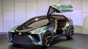 Lexus LF-30 Electrified Concept: Eléctrico, autónomo y con un dron que llevará tu equipaje