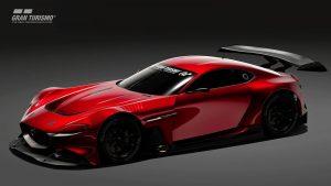 Mazda RX-Vision GT3 Concept: Una bestia virtual de 562 CV para 'Gran Turismo Sport'