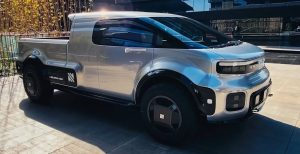 Neuron EV T-One: Una acuerpada Pick Up eléctrica