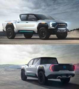 Nikola Badger: Otra futurista e interesante Pick Up eléctrica