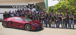 Vega EVX: Desde Sri Lanka llega un superdeportivo eléctrico con 815 CV