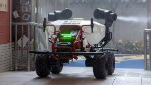 XAG R80: Un auto autónomo que llega para combatir al coronavirus
