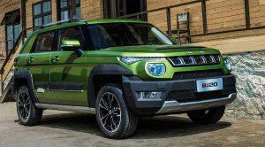 BAIC BJ20 2020: Un auto chino muy llamativo