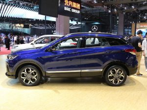 BAIC X55 2020: Una SUV china muy moderna y segura.