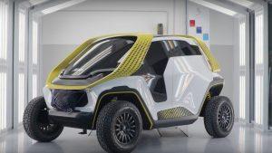 IED Tracy Concept: Un pequeño y futurista eléctrico con tracción integral.