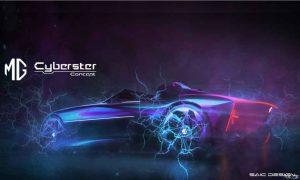 MG Cyberster Concept: ¿Un futuro convertible eléctrico?