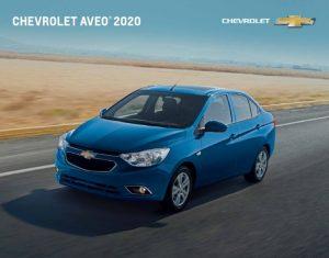 Chevrolet Aveo 2020: Confort y economía de combustible