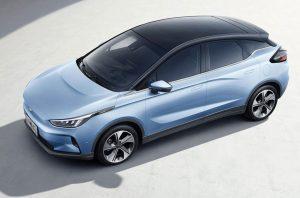 Geometry C: En China lanzan un auto eléctrico rival del Nissan Leaf