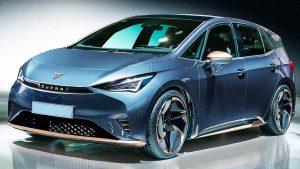 CUPRA el-Born 2021: Un eléctrico deportivo con una autonomía de 500 km