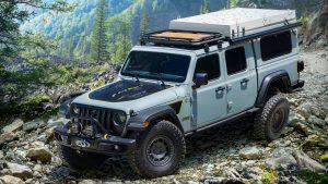 Jeep Gladiator Farout Concept: Un bestial todoterreno para ir de aventuras
