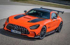 Mercedes-AMG GT Black Series: El motor V8 de producción más radical de AMG