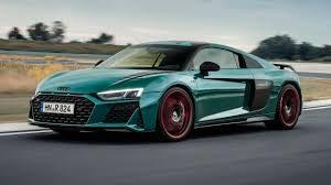 Audi R8 Green Hell Edition: Tributo a su exitosa versión de competición.