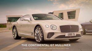 Bentley Continental  GT Mulliner Coupé 2021: El lujo en su máximo nivel