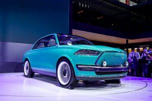 Great Wall Futurist Concept: Un auto eléctrico de estilo retro.