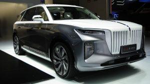 Hongqi E-HS9: Una impresionante y super lujosa SUV eléctrica.