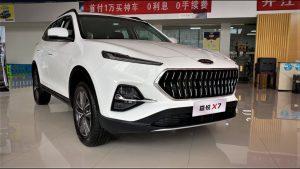 JAC Sei7 Pro 2021: Una SUV china con el nuevo lenguaje de diseño de la marca.