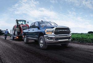 Ram 2500 Big Horn 2021: Una camioneta lujosa pero lista para el trabajo pesado