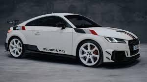 Audi TT RS Edición 40 aniversario Quattro: Solo 40 exclusivas unidades