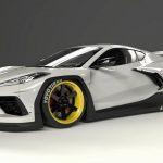 Corvette C8 por Pandem: Más llamativo