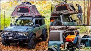Ford Bronco Overland concept: Listo para la diversión y la aventura al aire libre