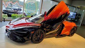McLaren 765LT Strata Theme: Un acabado único.