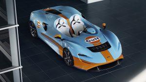McLaren Elva Gulf: Para celebra el regreso de una histórica colaboración.