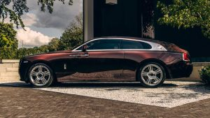 Silver Spectre Shooting: Un exclusivo Rolls-Royce  Wraith con carrocería Shooting