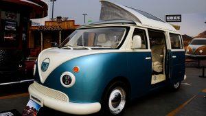 Songsan Summer: Un camper chino copiado del VW Transporter