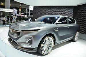 Voyah i-FREE Concept: Una SUV eléctrica de China de  exagerado diseño.